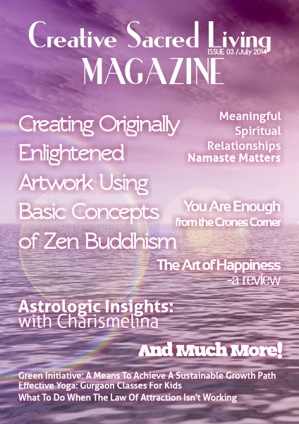 Creative Sacred Living Magazine July 2014