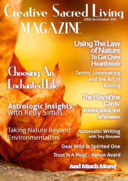 Creative Sacred Living Magazine October 2014