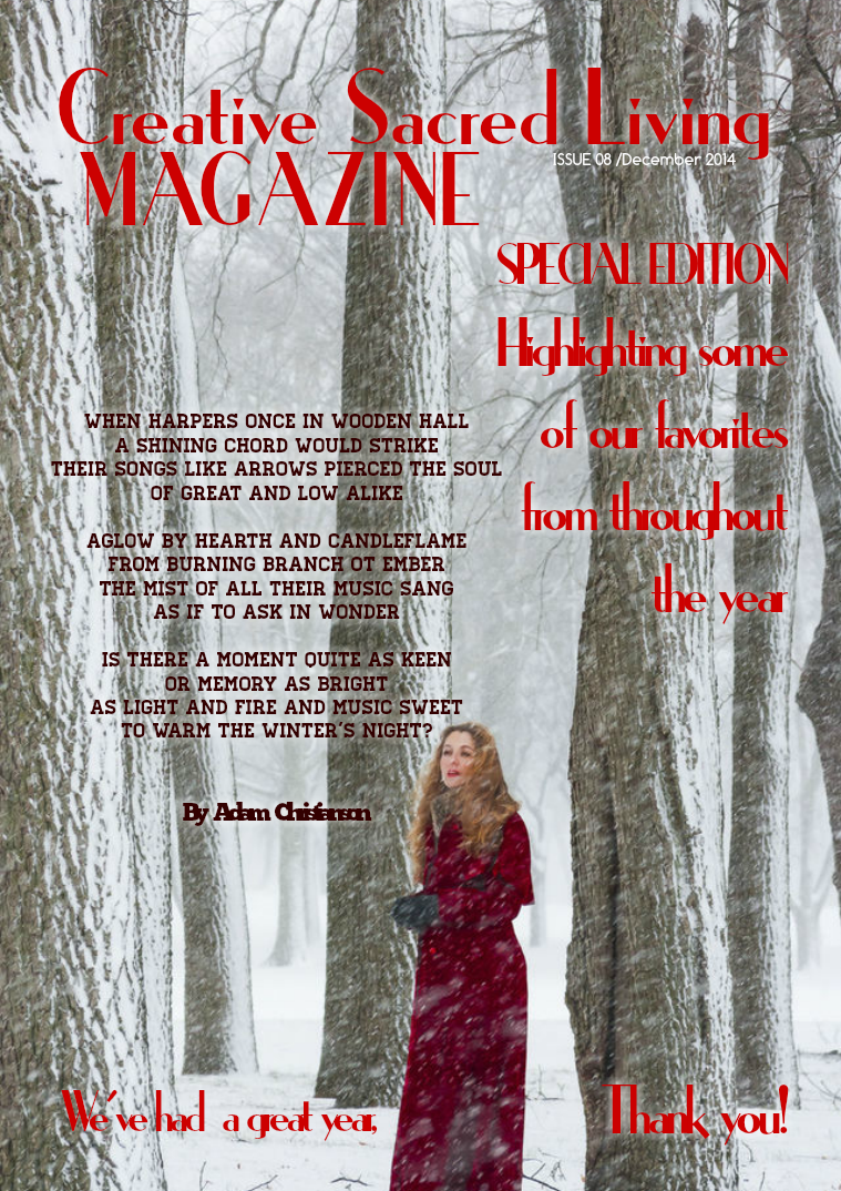 Creative Sacred Living Magazine December 2014