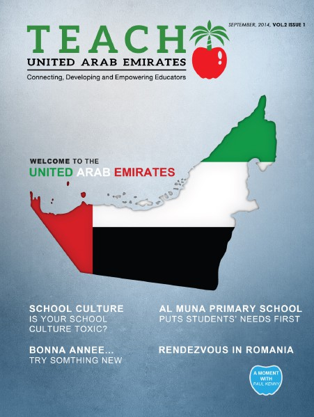 Teach Middle East Magazine September 2014 Issue 1 Vol. 2