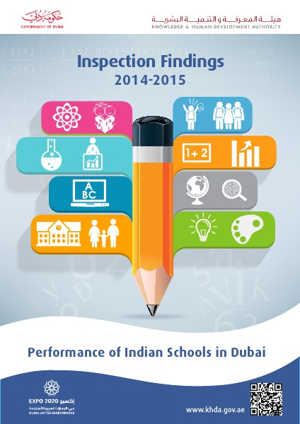 Performance of Indian Schools in Dubai  2014-2015  Inspection Finding vol 1
