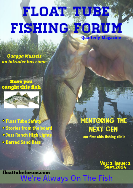 The Float Tube Fishing Forum Vol: 1 Issue; 2