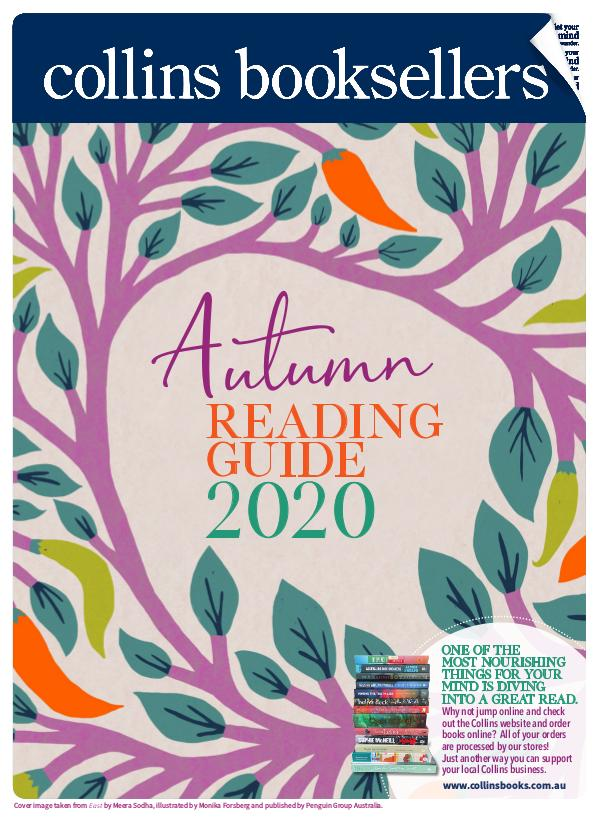 Collins Booksellers Autumn Reading Guide 2020 Collins Booksellers Autumn Reading Guide 2020