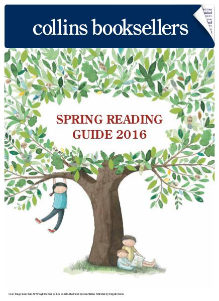 Collins Booksellers Spring Reading Guide 2016 Spring 2016