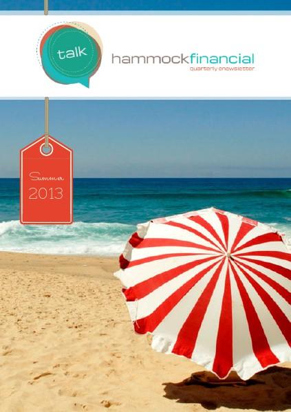 HammockTalk - Quarterly Newsletter Summer 2013
