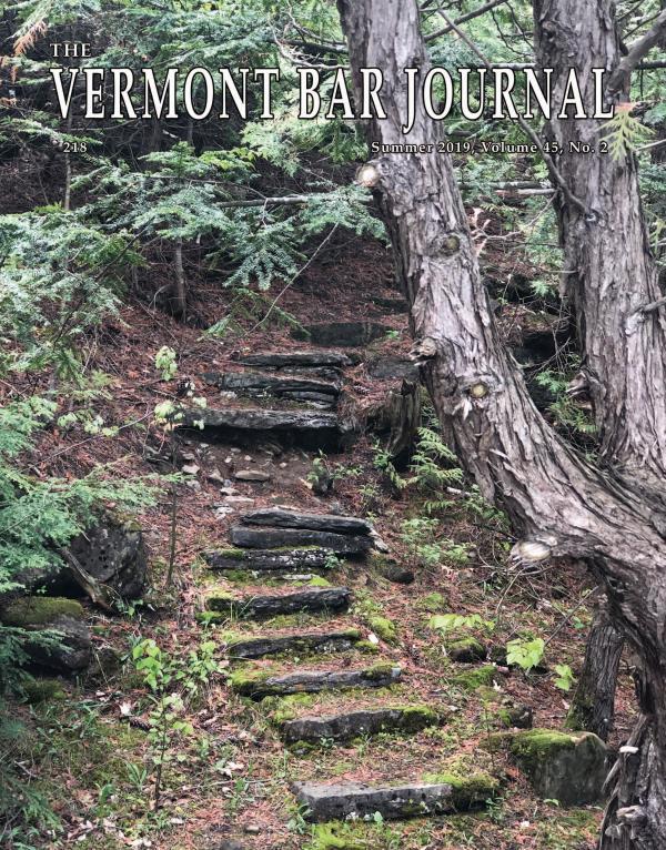 Vermont Bar Journal, Summer 2019