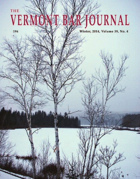 Winter 2014, Vol. 39, No. 4