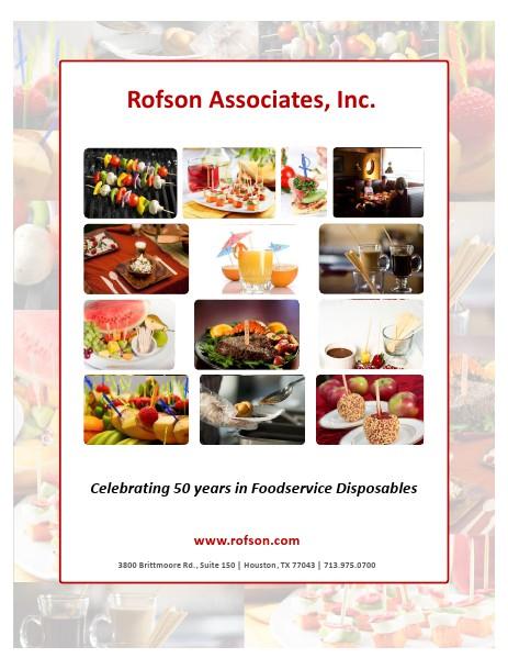 Rofson Associates, Inc. Product Catalog Item Brochure