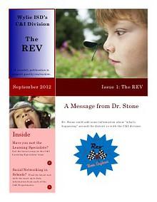 Sample REV Magazine