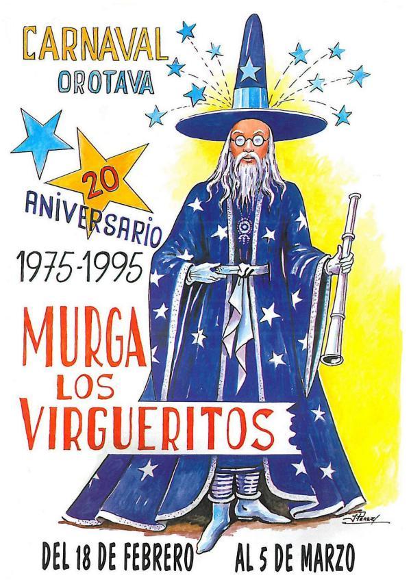 Cancioneros de Los Virgueritos Año 1995