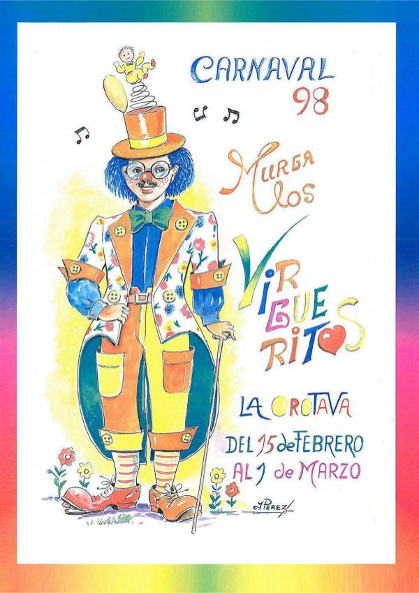 Cancioneros de Los Virgueritos Año 1998