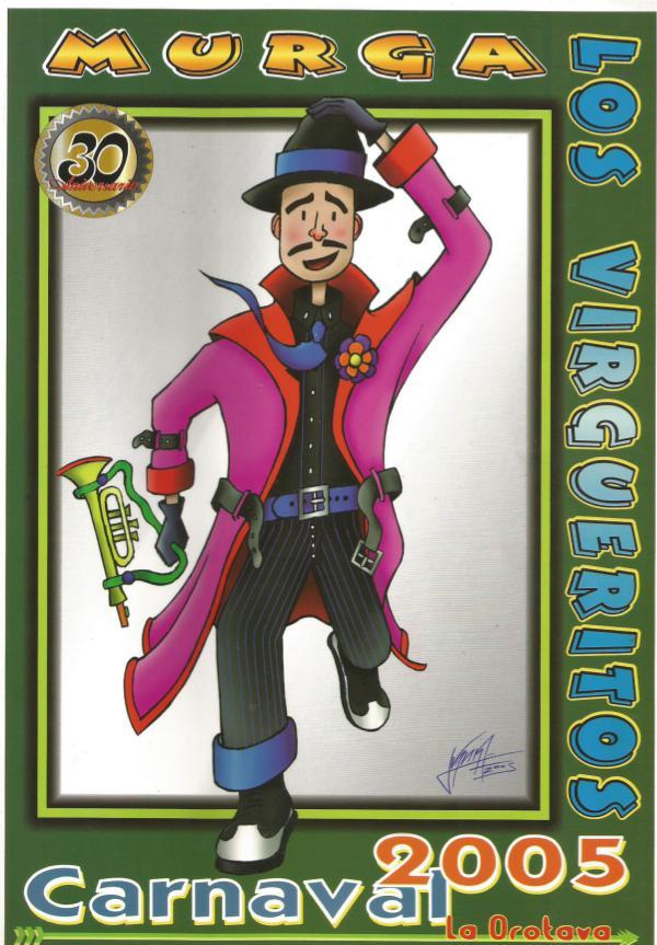 Cancioneros de Los Virgueritos Año 2005