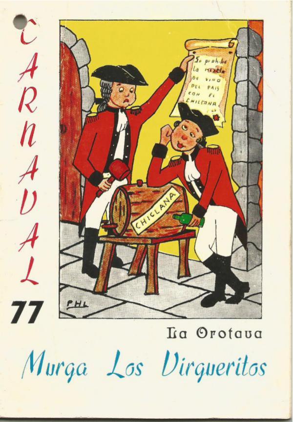 Cancioneros de Los Virgueritos Año 1977