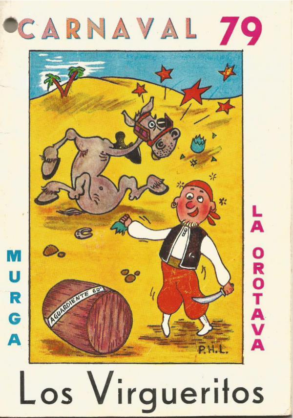 Cancioneros de Los Virgueritos Año 1979