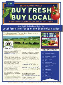 _2012 Shenandoah Valley Buy Fresh Buy Local Guide_