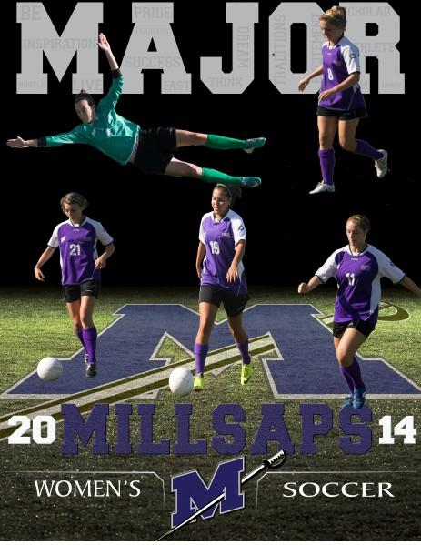 2014 Millsaps Majors Women's Soccer Media Guide 2014