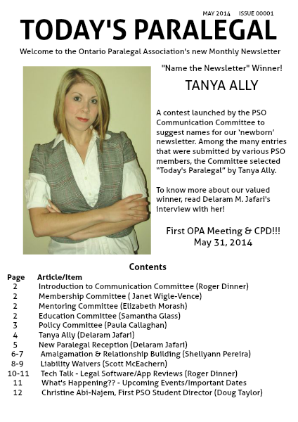 Today's Paralegal May 2014