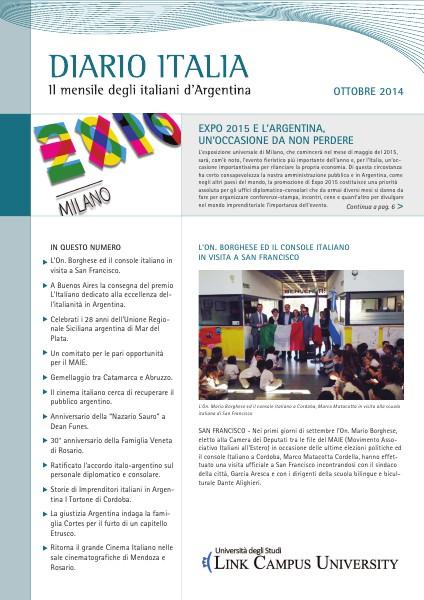 Diario Italia Ottobre 2014