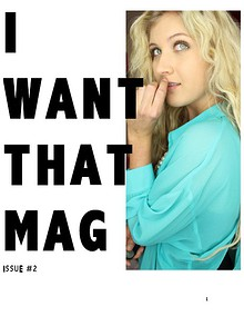 I WANT THAT MAG ISSUE 2