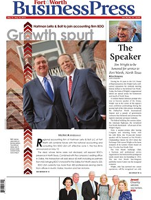 Fort Worth Business Press, May 12, 2014