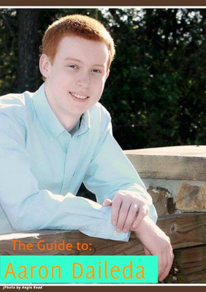 Senior Scrapbook Aaron Daileda