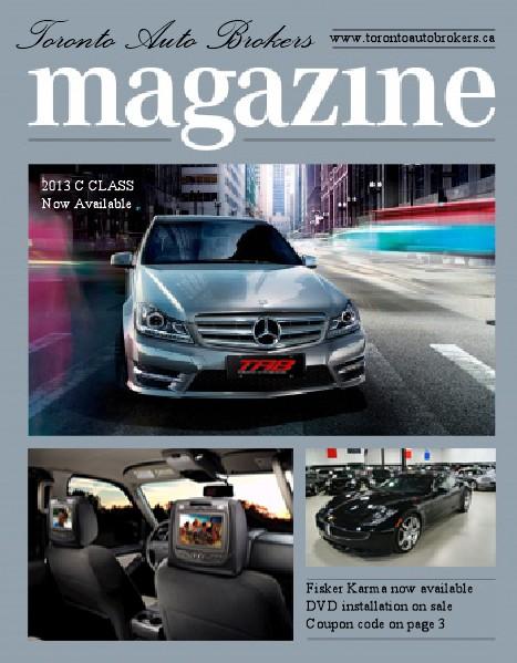 Toronto Auto Brokers May 2014