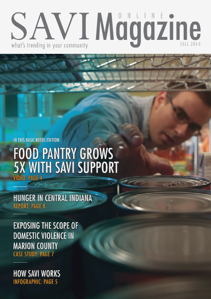 SAVI Magazine Fall 2014: Basic Needs