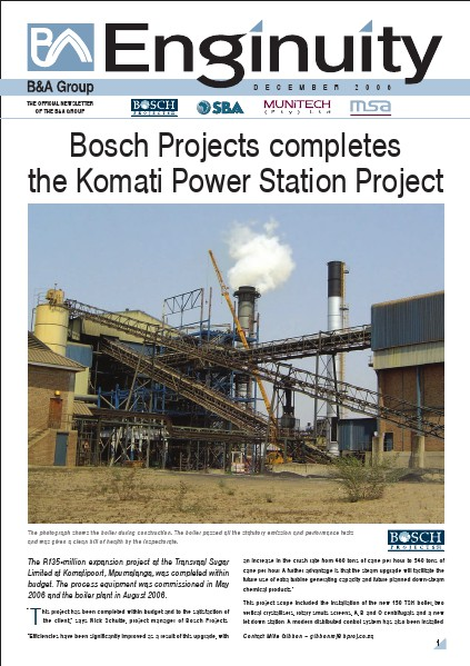 Bosch Holdings Enginuity December 2006