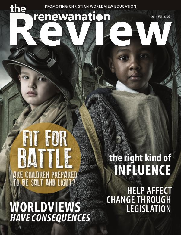 The Renewanation Review 2016 Volume 8 Issue 1