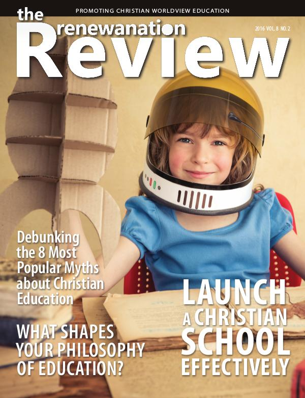 The Renewanation Review 2016 Volume 8 Issue 2