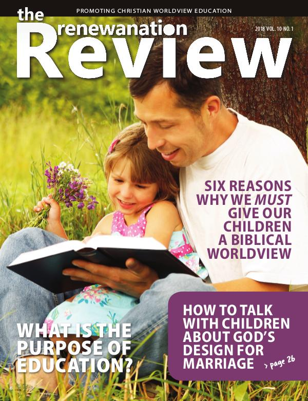 The Renewanation Review 2018 Volume 10 Issue 1