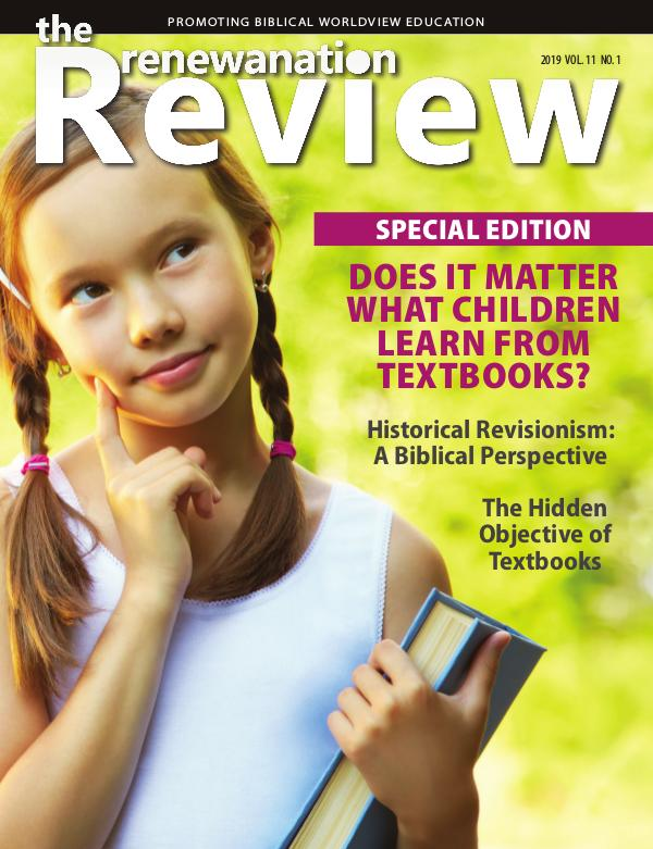The Renewanation Review 2019 Volume 11 Issue 1