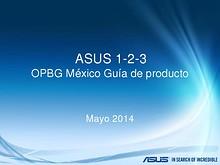 ASUS 1-2-3 Mexico