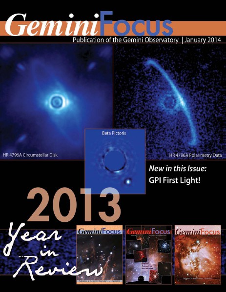 GeminiFocus 2013 Year in Review 2013 Year in Review