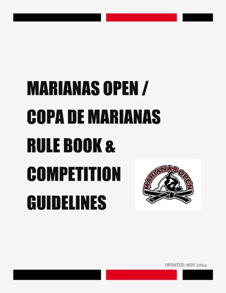 MARIANAS OPEN AND COPA DE MARIANAS RULE BOOK 2014-2015