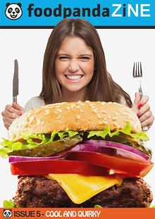 foodpanda ZINE | 5th Issue | Oct 2014