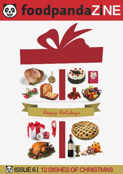foodpanda ZINE | 7th Issue | DEC 2014 -12 DISHES OF CHRISTMAS-