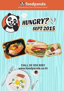 foodpanda monthly e-deal brochure