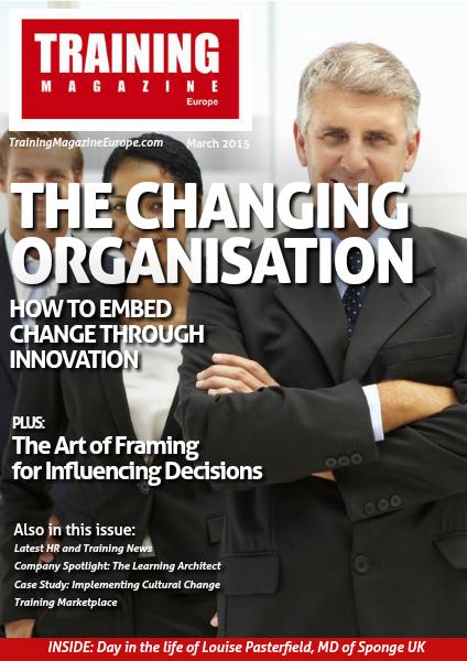 Training Magazine Europe March 2015