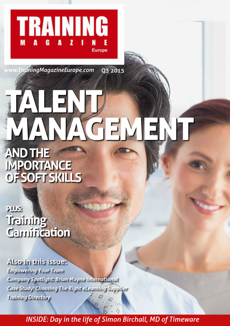 Training Magazine Europe Q3 2015