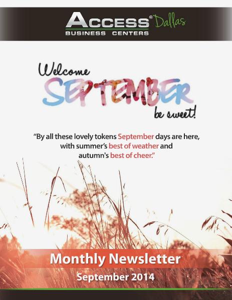 Access September 2014 2014