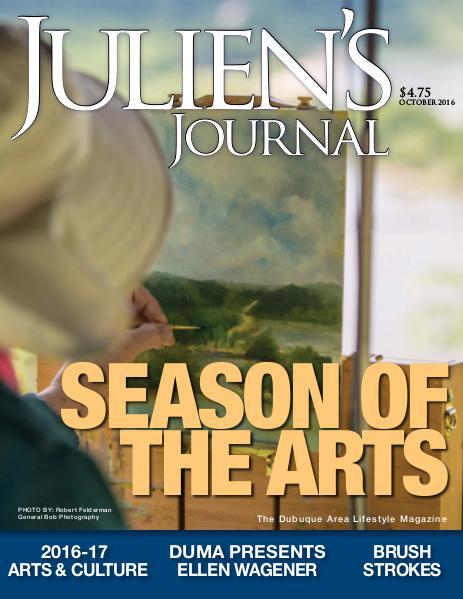Julien's Journal October 2016 (Volume 41, Number 10)