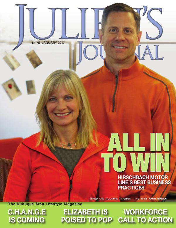 Julien's Journal January 2017 (Volume 42, Number 1)