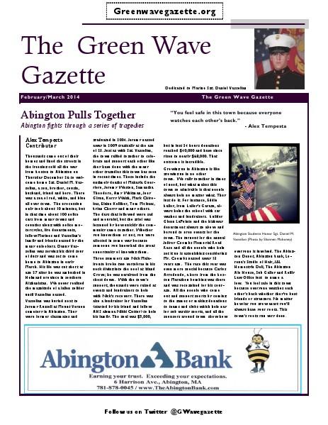 The Green Wave Gazette January/February 2014