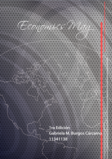 Economics Mag by Gabriela Burgos