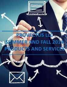Provectus LLC Summer and Fall Catalog of Services