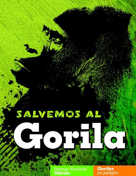 Salvemos al Gorila Junior Catari FATLA 2014
