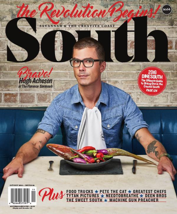 South magazine 64: Food, Film, & Famous Folks