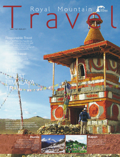 Royal Mountain Travel Magazine Royal Mountain Travel Magazine Issue 1