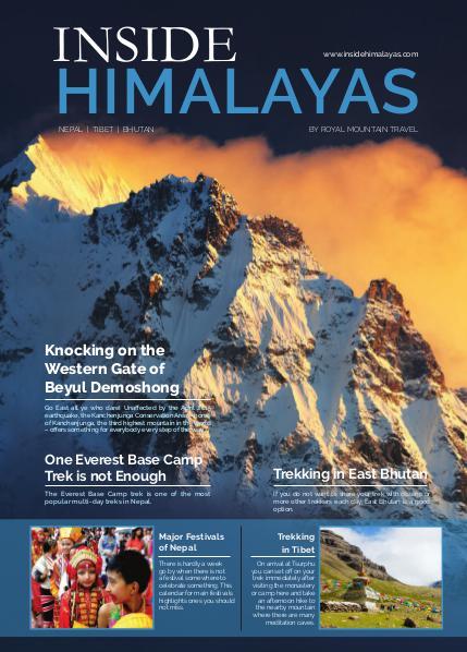 Royal Mountain Travel Magazine Inside Himalayas Issue 4